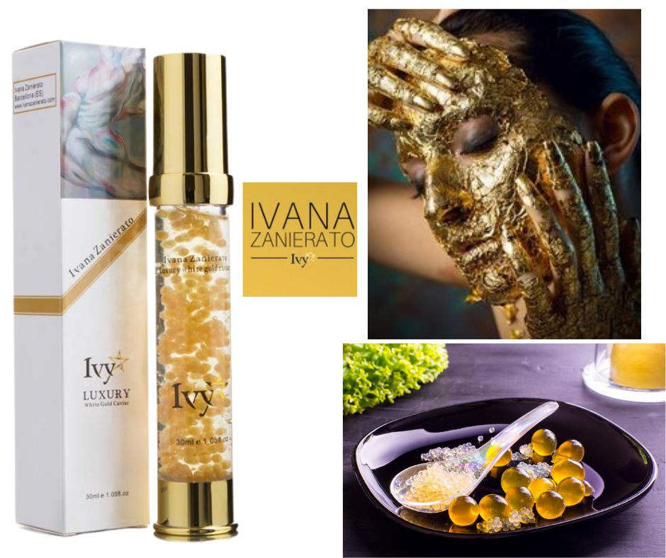 Luxury Gold White Caviar Anti-Aging Face Serum from Ivana Zanierato IVY 2021 Mother's Day Gift Ideas and Buying Guide