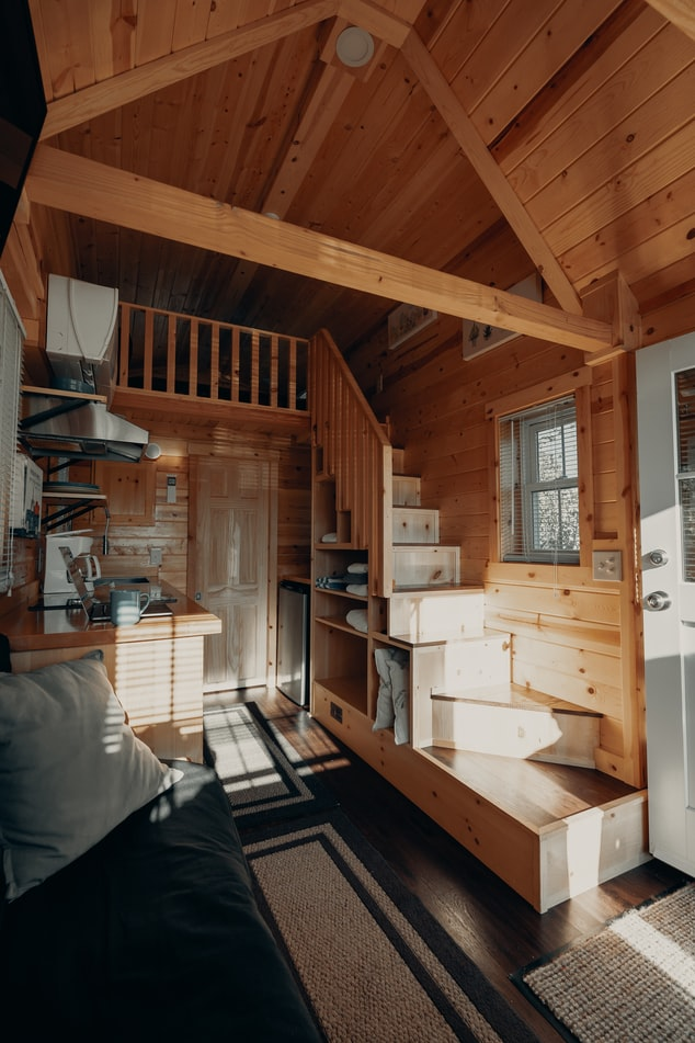 Tiny Home Interior Benefits of Living in a Small House