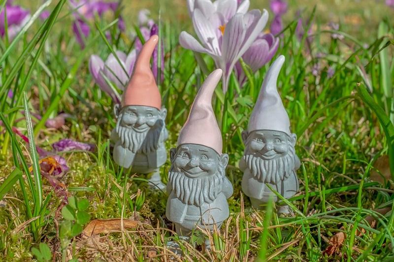 little stone gnomes