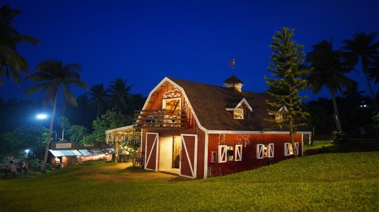 Two Story Barn Homes Barn Style Home with balcony