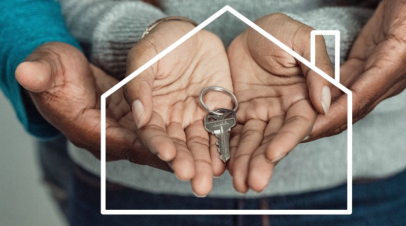 Protect Your Rental Property Couples hands holding house key
