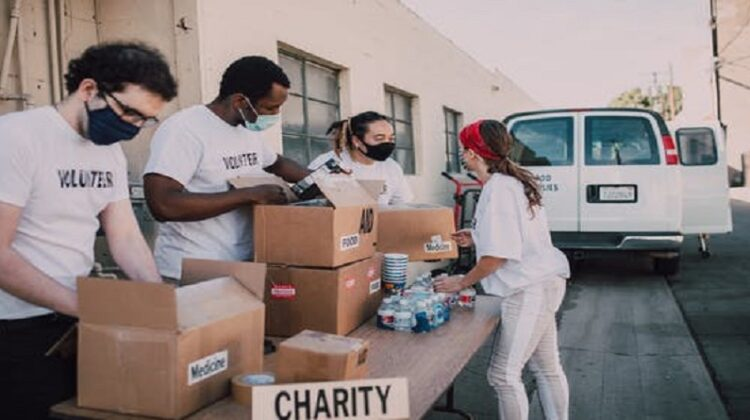 What to Do With Your Unwanted Stuff Volunteers accepting donations for charity