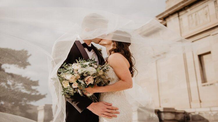 Wedding Photography Business Wedding Couple Kissing