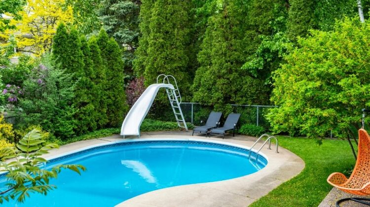 Backyard Improvement Backyard Swimming Pool