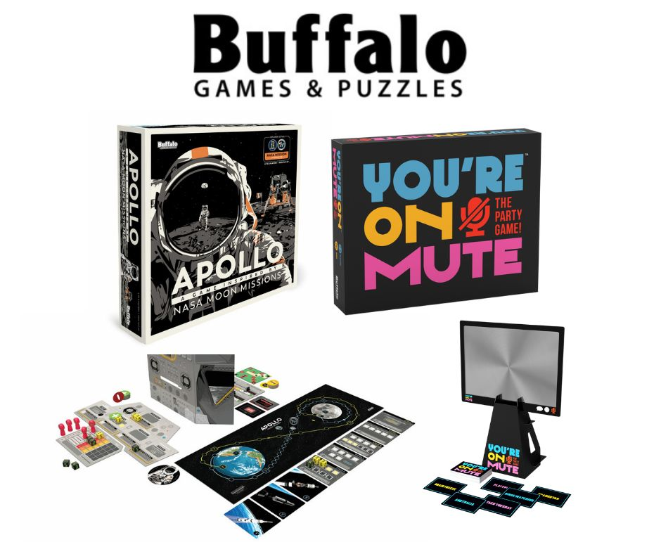 Buffalo Games and Puzzles Great Reads and Games for Dad