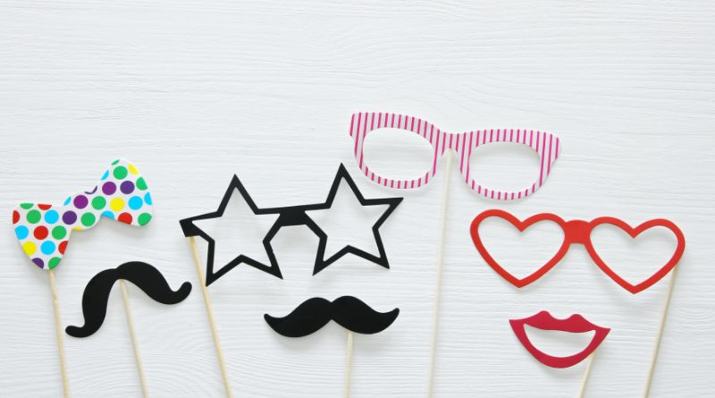 Birthday Party Photo Booth Props