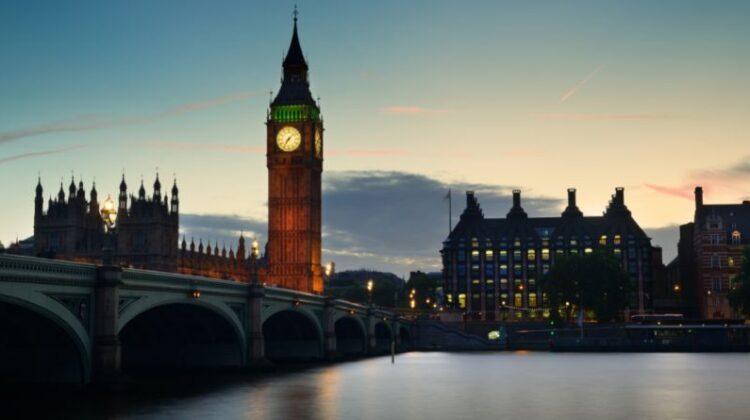 Costas Polycarpou Westminster Bridge and Big Ben at Dusk