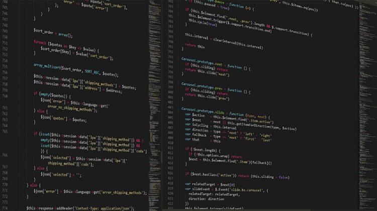 Screen Shot of HTML Programming