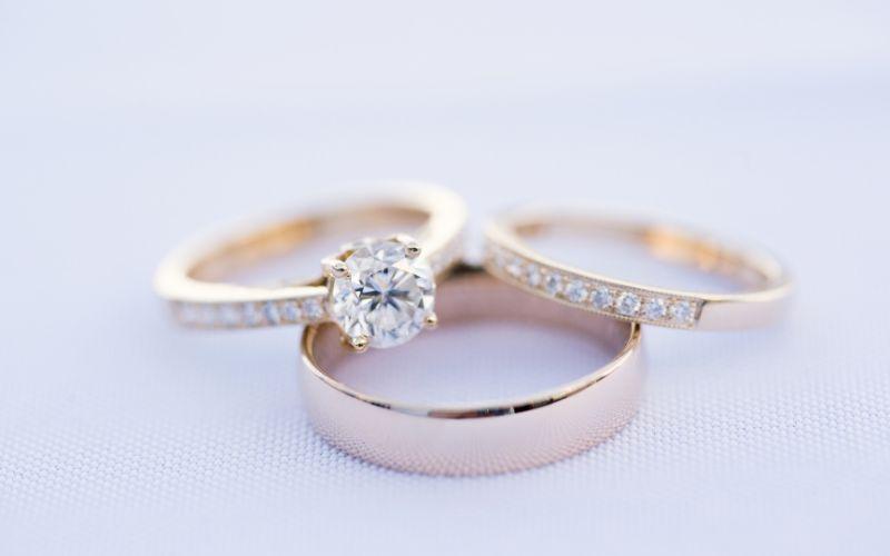 Set of Classic Wedding Rings