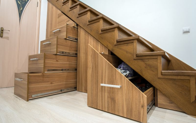 Under stairs storage Storage Space in Your Home