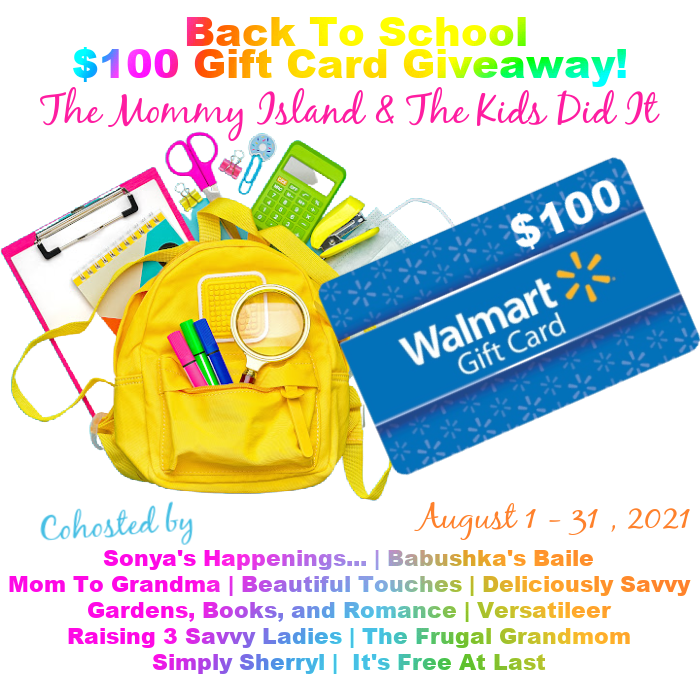 August $100 Walmart Gift Card Giveaway