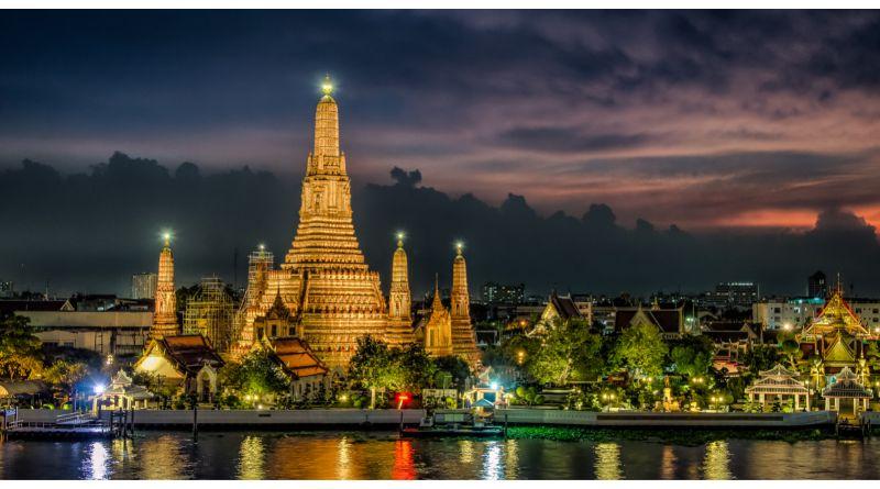 Move to Bangkok, Thailand Bangkok, Thailand at sunset