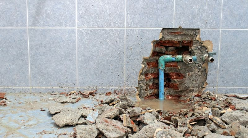 Common Plumbing Problems Broken Pipes, tile, and leaking in home