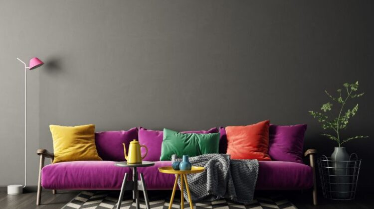 Design Styles That Go Surprisingly Well Together Eclectic colorful living room