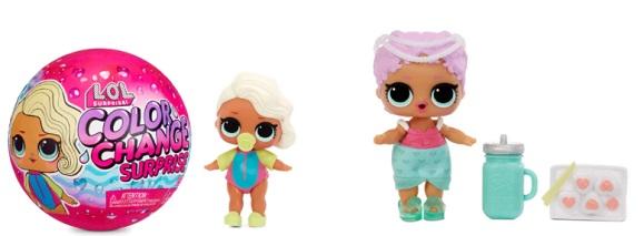LOL Color Change Dolls