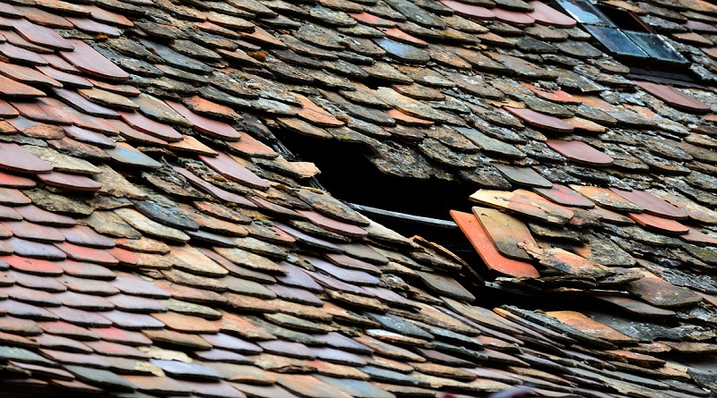 Slate roof with damage Home Issues You Don't Want To Ignore