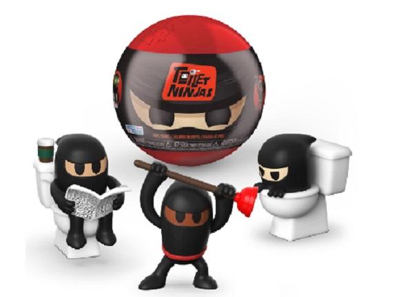 Toilet Ninjas by FUNKO