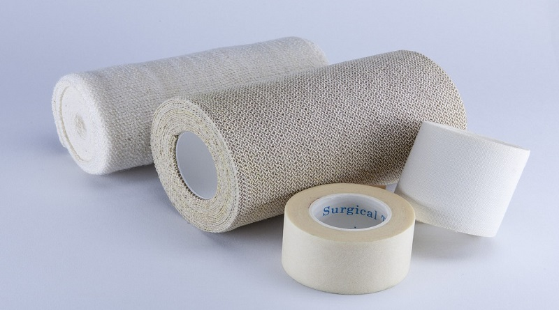 Your Pet's First Aid Kit bandages and medical tape
