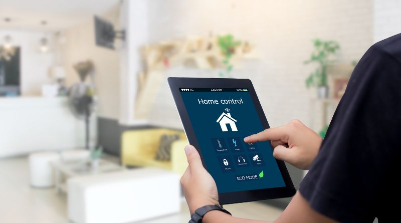 Adapt Your Home to Your Age Smart Home Technology on tablet