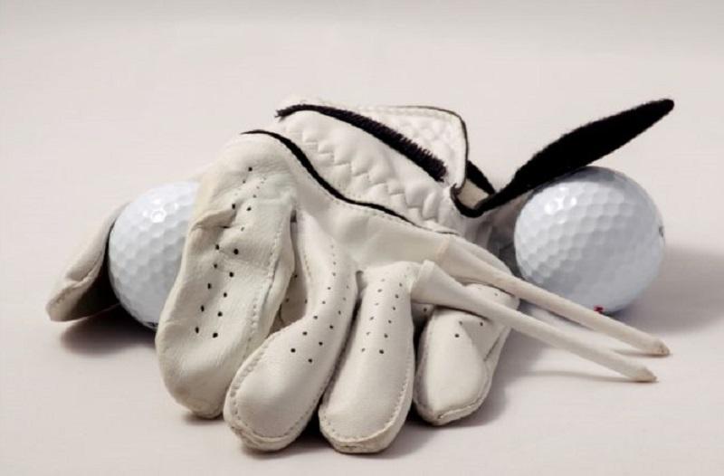 Golf Gloves Golf Balls and Golf Tees